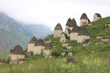 City of the Dead, North Ossetia, Russia