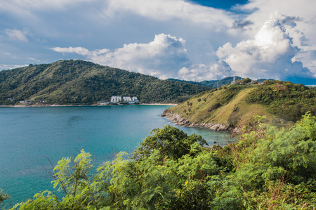 Cape Promtep. Panoramic view of the sea, Phuket, Thailand