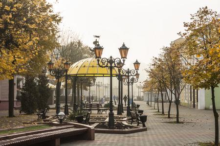 Belarus, Brest, 25, October, 2015: Brest Arbat, Sovetskaya Street Editorial