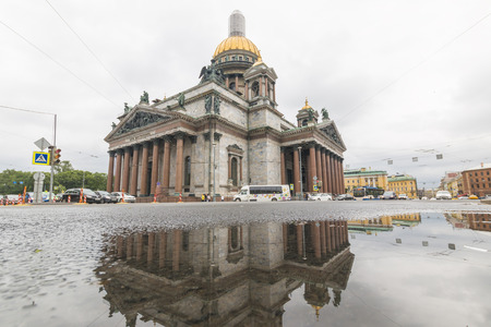Russia, St. Petersburg, 12, July, 2017: St. Isaacs Cathedral