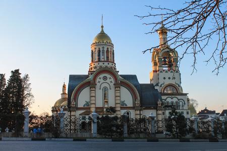 Russia, Sochi, 25, January, 2015: The Church of St. Vladimir