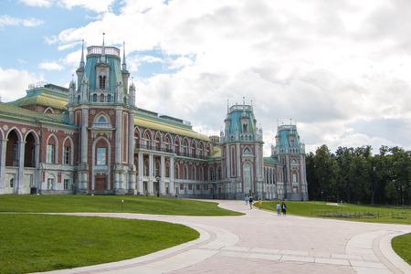 Russia, Moscow, 07, May, 2015: Manor of Tsaritsyno