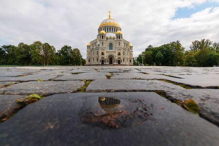 Naval Cathedral in Kronstadt, Leningrad region, Russia