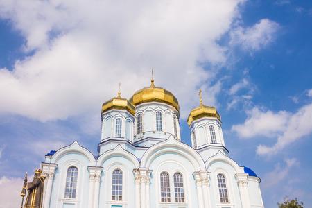 Russia, Zadonsk, 15, September, 2015: Russia, Zadonsk, 15, September, 2015: Zadonsky Christmas-Virgin Mary Monastery