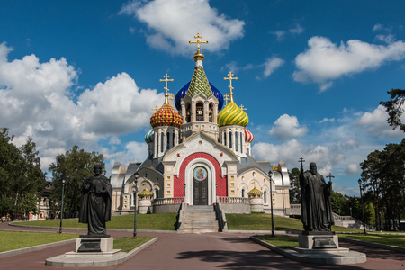Russia, Moscow, 10, July, 2016: The Church of the Transfiguration in Peredelkino