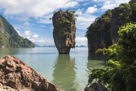 Thailand, Pranang, 23, September, 2018: Phang-Nga bay, Tailand Editorial