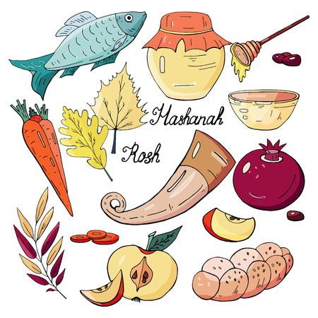 Jewish holiday Rosh-Hashanah, sweet new year