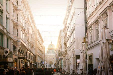 Austria, Vienna - Walking the streets of Vienna Editorial