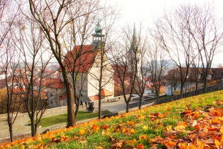 Bratislava, Slovakia - walk in the old city of Bratislava, view of the city. Editorial