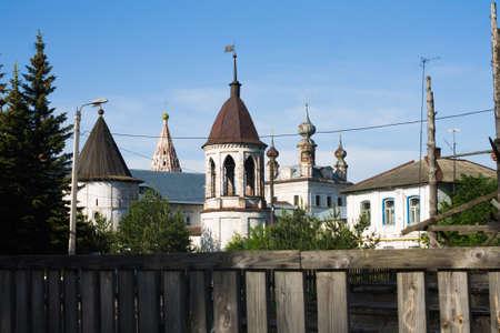 Russia, Yuryev-Polsky, 30, May, 2015: The Mikhailo-Arkhangelsk Monastery, Vladimir region