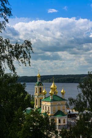 Russia, Ples, 13, June, 2015: Church of the Resurrection
