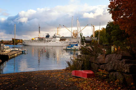Kotka, Finland: October 5, 2019 - Autumn Park