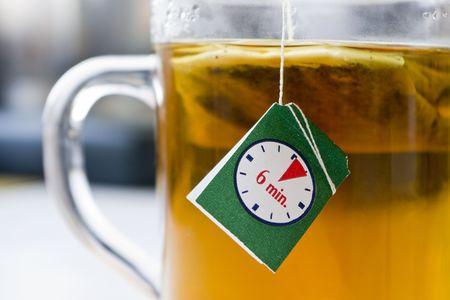 hot tea in 6 minutes photo