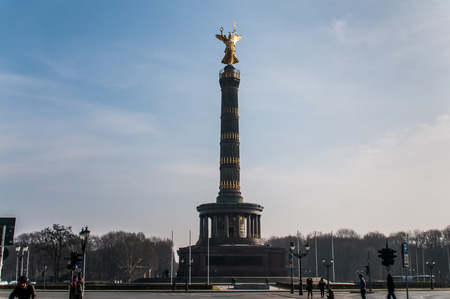 The Victory Column is a monument in Berlin, Germany