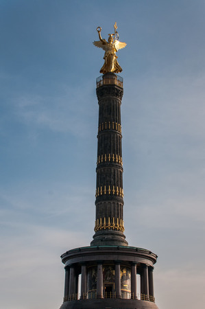 The Victory Column is a monument in Berlin, Germany. photo