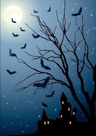 macabre: eve of halloween Illustration