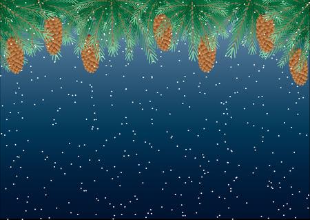 pinetree: Ramas de pino  Vectores