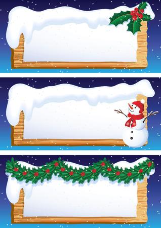 Vector illustration - christmas banners