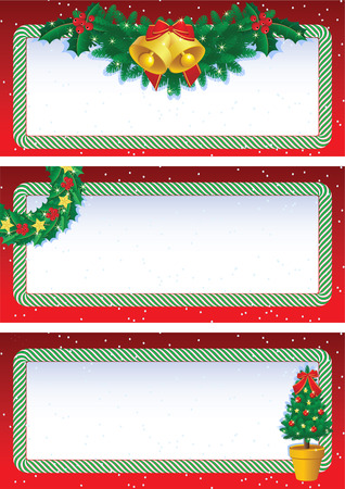 Vector illustration - christmas banners Vector