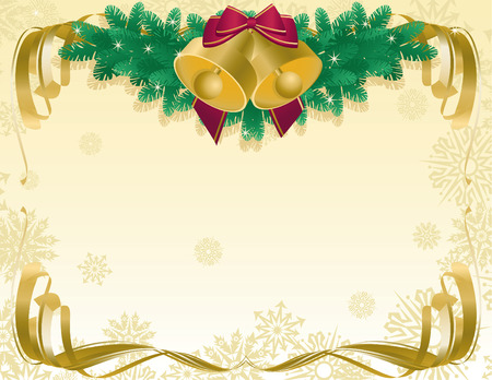 Vector illustrationn - xmas abstract background Vector