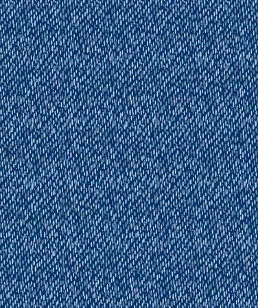 jeansstoff: Vektor-Illustration - blau Jeans nahtlose Muster