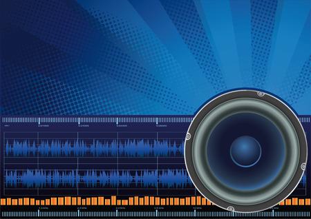 vector illustration - sound symbol background Stock Vector - 2341372