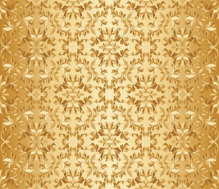 vector illustration - seamless floral pattern Vector