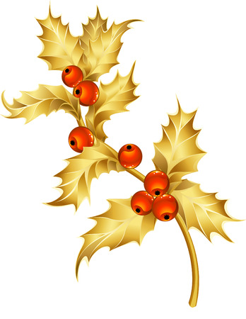 Vector illustration - christmas decor and simbols