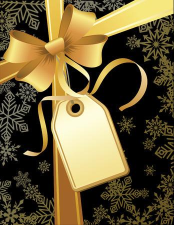bows and ribbons: vector illustrations - christmas gift
