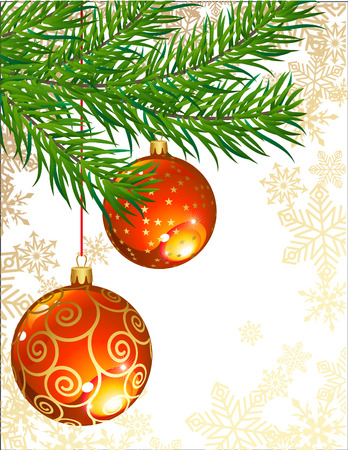 vector illustrations - christmas decor and symbols Vector