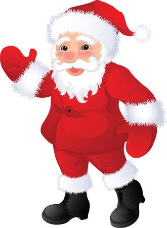 Vector illustration - santa claus Stock Vector - 3866065