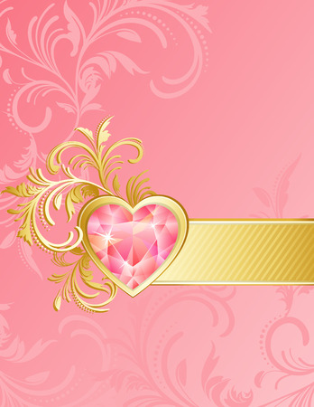 Vector illustration - valentine's day background Stock Vector - 4029081