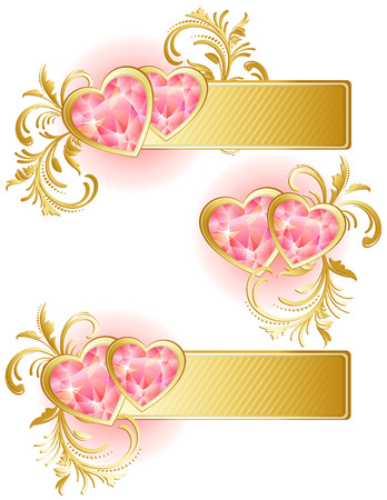 Vector illustration - valentines day background Vector