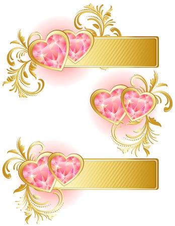 Vector illustration - valentine's day background Stock Vector - 4029083