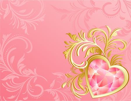 Vector illustration - valentine's day background Stock Vector - 4029082