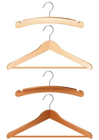 ベクター グラフィック - 分離衣類ハンガー