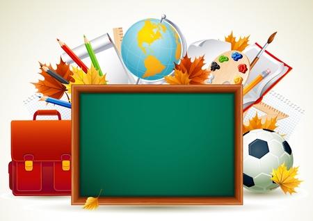 objetos escolares: Volver a antecedentes escolares