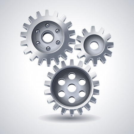 gears icon Stock Vector - 14556268