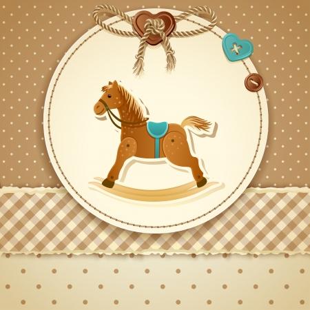 Baby Shower Invitation (boy) Illustration