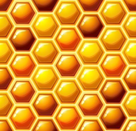Vector illustration - honeycomb seamless pattern Stock Vector - 14780643