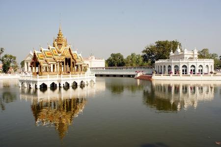 grand pa: Royal Palace of Bang Pa-In in Ayutthaya, Thailand