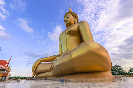 seated: The Biggest Seated Buddha Image in Thailand