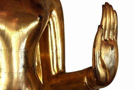 Hand Buddha Statue in Wat Pho at Thailand