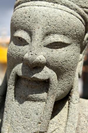 Sculpture in Wat Pho at Thailand