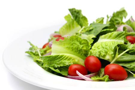 Cos Salad with Tomato