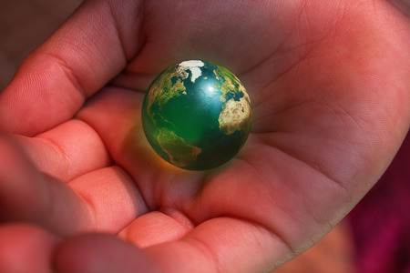 carrying: We have the earth on our hands