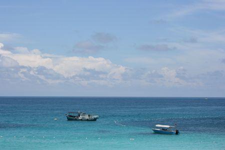 Plaża wakacje Zdjęcie Seryjne