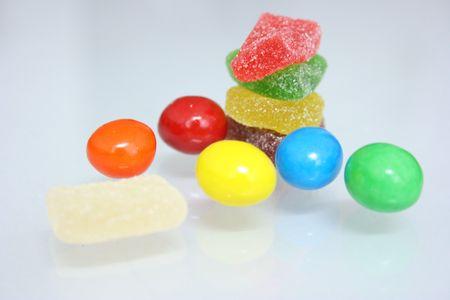 Candy różnych typów