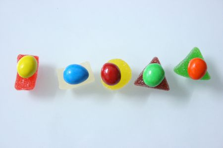 selections: Colourful candies