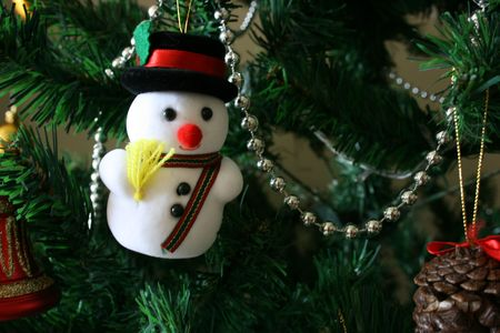 Snowman,christmas ornament